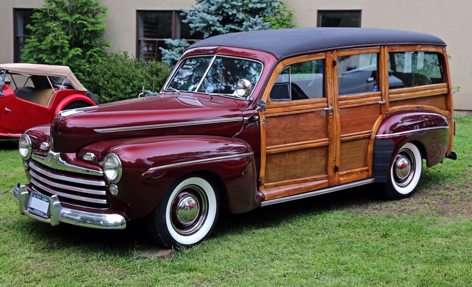 ОРИГІНАЛ: Ford Super Deluxe Woody, 1947 рік