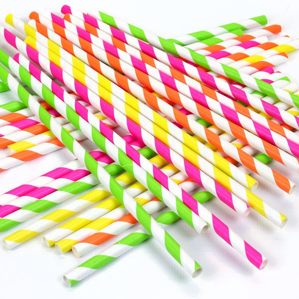 neon-colour-mix-striped-paper-straws